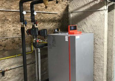 Chaudière gaz condensation VIESSMANN VITOCROSSAL 300 au CREDIT MUTUEL DE SARRE-UNON (1) (1)