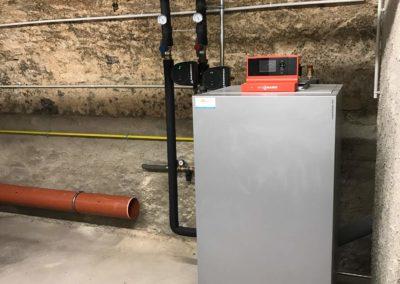 Chaudière gaz condensation VIESSMANN VITOCROSSAL 300 au CREDIT MUTUEL DE SARRE-UNON (3)