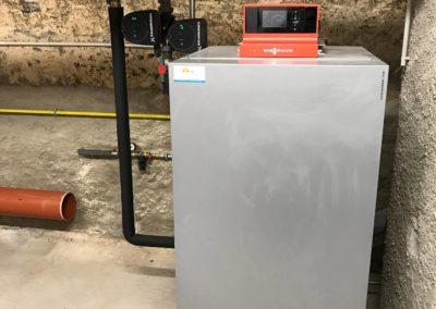 Chaudière gaz condensation VIESSMANN VITOCROSSAL 300 au CREDIT MUTUEL DE SARRE-UNON (4) (1)