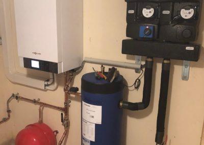 Pompe à chaleur air eau VIESSMANN VITOCAL 200-S avec préparateur d'eau chaude sanitaire thermodynamique VITOCAL 060-A à REIPERTSWILLER (6) (1)