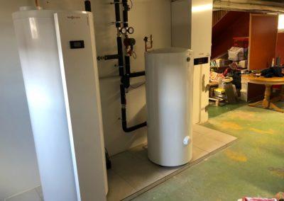 Pompe a chaleur air eau VIESSMANN VITOCAL 200-S avec préparateur d'eau chaude sanitaire thermodynamique VITOCAL 060-A à MARMOUTIER (4)